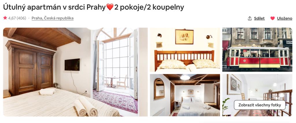 Utulný apartmán v srdci Prahy
