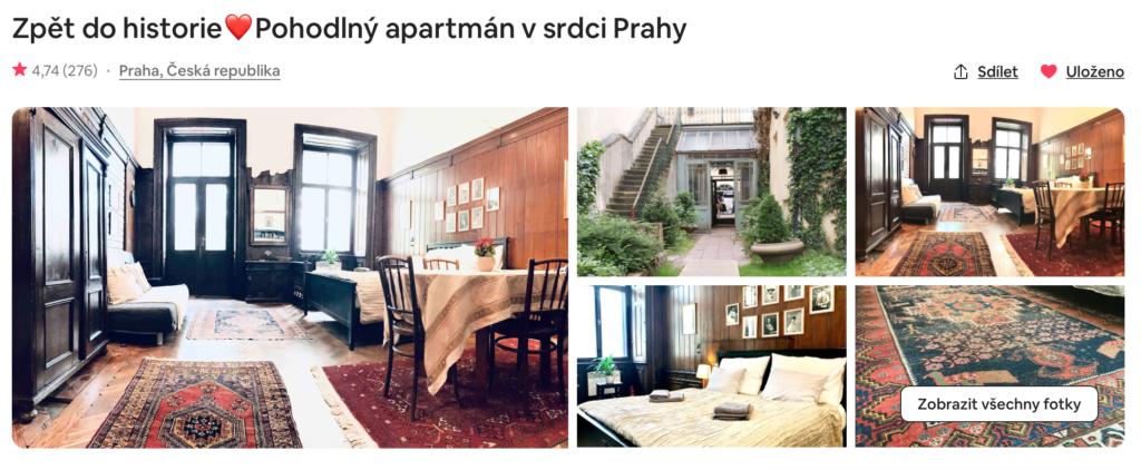 Pohodlný apartmán v srdci Prahy