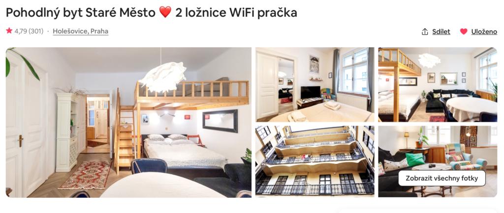 Ubytování Praha Staré Město